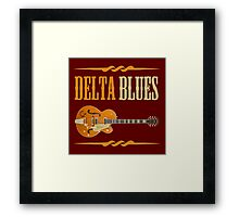 Wonderful Delta Blues Framed Print
