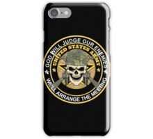 Army - God Will Jugde Our Enemies iPhone Case/Skin