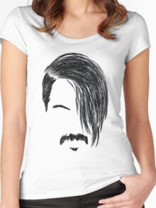 Anthony Kiedis Women's Fitted Scoop T-Shirt