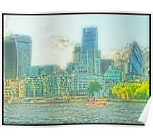 City Of London - The dreamy vista Poster