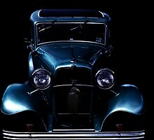 Black and blue by Peter Krause