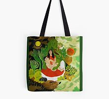 Frida and Diego Tote by Shulie1