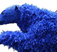 Fluffy Blue Bear by Ruboskus