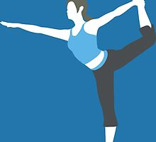Wii Fit Trainer Vector by ViralDrone