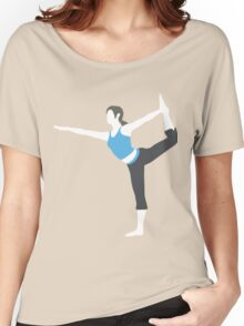 Wii Fit Trainer Vector Women's Relaxed Fit T-Shirt