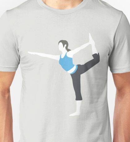Wii Fit Trainer Vector Unisex T-Shirt