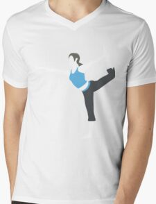 Wii Fit Trainer Vector Mens V-Neck T-Shirt