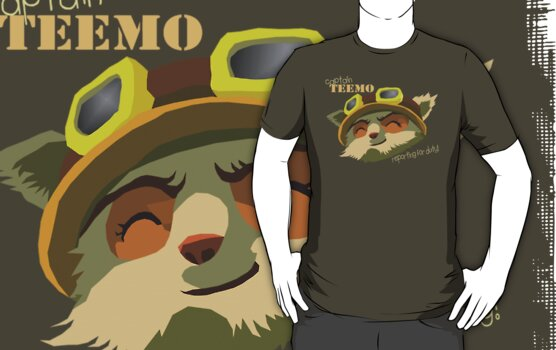 Captain Teemo by Jellyscuds