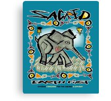 sacred elephant Canvas Print