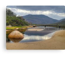 HDR image of Tidal River, Wilsons Promontory, Victoria. Canvas Print