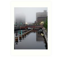 Early Morning Fog Art Print