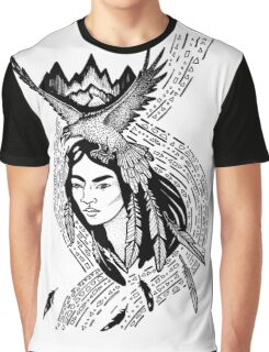 Native american shaman Graphic T-Shirt