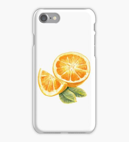 Orange fruit iPhone Case/Skin