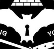 cancer bats logo Sticker