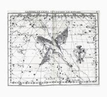 Atlas Coelestis John Flamsteed 1729 11 Astronomy Constellations One Piece - Short Sleeve