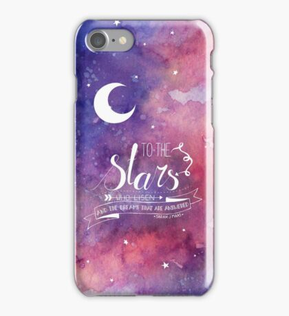 To the stars ACOMAF Quote iPhone Case/Skin