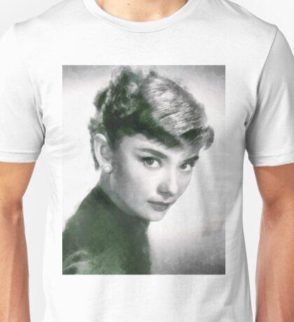 Audrey Hepburn Hollywood Actress Unisex T-Shirt