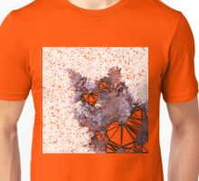 Red Black Cat #Polygonized Unisex T-Shirt