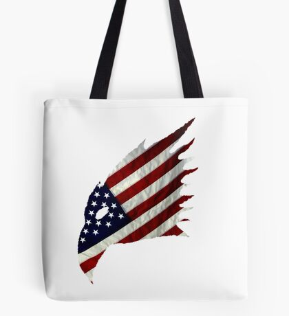 Tale of the American Eagle Tote Bag