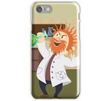 Mad, Scientist, Physicist, Chemist, Cartoon iPhone Case/Skin