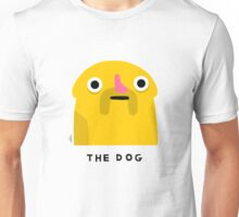 The Dog (black text) Unisex T-Shirt