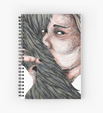 Hanna (Noir) Spiral Notebook
