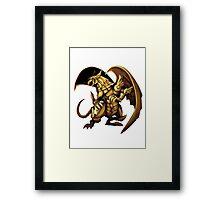 Winged Dragon of Ra Framed Print