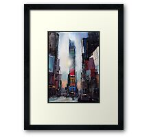 The Times They Are-a-Changing Framed Print