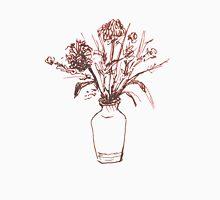 Magenta Floral Unisex T-Shirt
