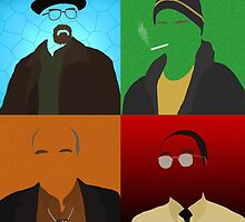 Breaking Bad Minimalist Poster by Hellmoo