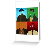 Breaking Bad Minimalist Poster Greeting Card