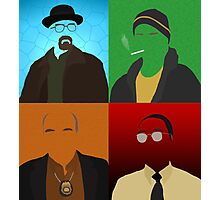 Breaking Bad Minimalist Poster Photographic Print
