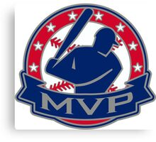 MVP - Most Valuable Player Canvas Print