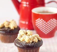 Salted Caramel Chocolate Cupcakes by the-novice