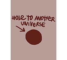 Life is Strange ~ Hole to Another Universe Graffiti ~  Photographic Print
