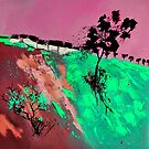 abstract landscape 3 by calimero