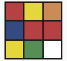 Rubik One Piece - Short Sleeve