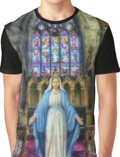 The Virgin Mary Graphic T-Shirt