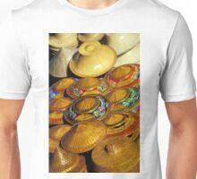 Pile of Straw Hats, Thailand Unisex T-Shirt