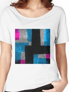 Abstract Tiles Women's Relaxed Fit T-Shirt