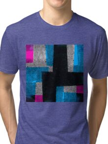 Abstract Tiles Tri-blend T-Shirt