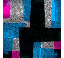Abstract Tiles Photographic Print