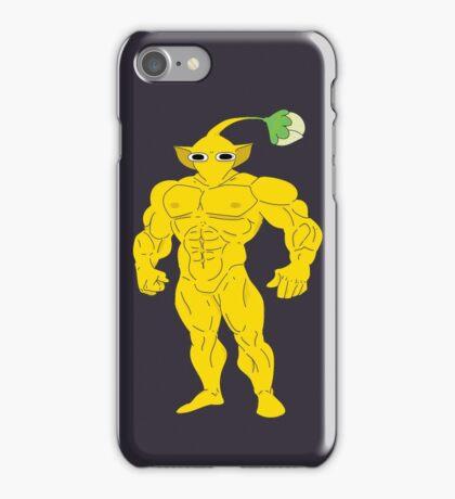 Yellow PikMAN iPhone Case/Skin