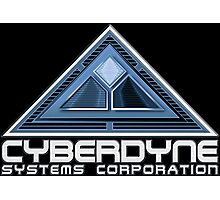 The Terminator Cyberdyne logo Photographic Print