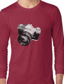 Black and White 35mm SLR Design Long Sleeve T-Shirt