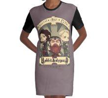 Bodyguard Graphic T-Shirt Dress