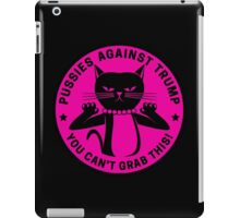 Pussies Against Trump Pink iPad Case/Skin