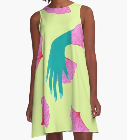 tired of indecision A-Line Dress