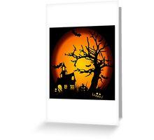 Night Halloween Greeting Card