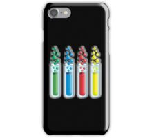 Science, Physics, Chemistry, Experiments, Experimental,Test tubes iPhone Case/Skin